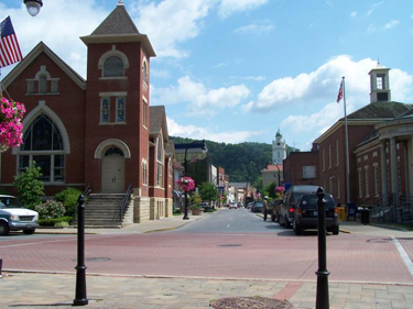 Main Street - Pikeville, Ky.