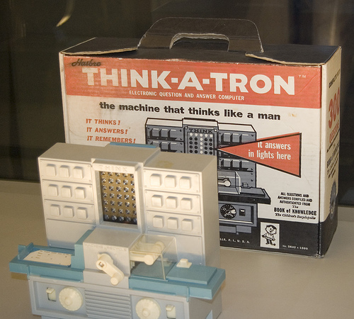 Think A Tron (courtesy Cristiano Betta on Flickr CC)